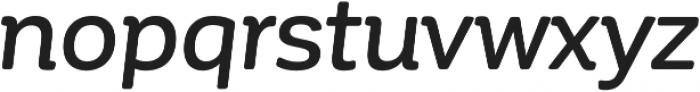 Corporative Soft Medium It otf (500) Font LOWERCASE
