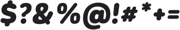CorporativeSansRd Black It otf (900) Font OTHER CHARS
