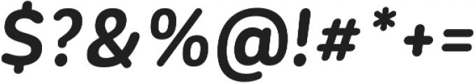 CorporativeSansRd Bold It otf (700) Font OTHER CHARS