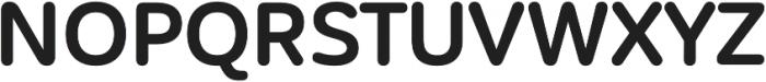 CorporativeSansRd Bold otf (700) Font UPPERCASE