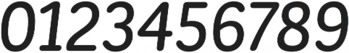 CorporativeSansRd Medium It otf (500) Font OTHER CHARS