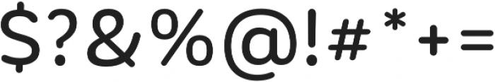 CorporativeSansRd Medium otf (500) Font OTHER CHARS