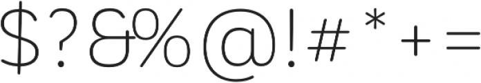 CorporativeSansRdAlt Light otf (300) Font OTHER CHARS