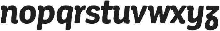 CorporativeSoft CndAlt Bold It otf (700) Font LOWERCASE