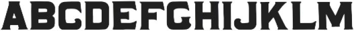 Correo Regular ttf (400) Font UPPERCASE