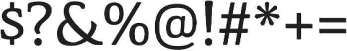 Corzinair Regular otf (400) Font OTHER CHARS