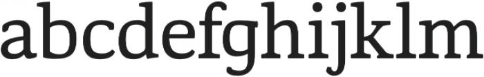 Corzinair Regular otf (400) Font LOWERCASE