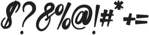 Cosera otf (400) Font OTHER CHARS