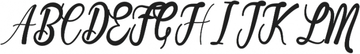 Cosera otf (400) Font UPPERCASE
