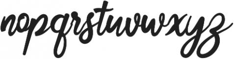 Cosera otf (400) Font LOWERCASE