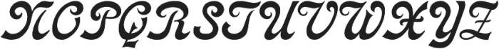 Cosmopolitan Distressed otf (400) Font UPPERCASE