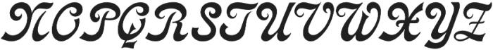 Cosmopolitan otf (400) Font UPPERCASE