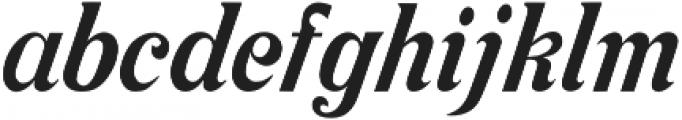 Cosmopolitan otf (400) Font LOWERCASE