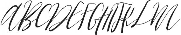Cottage Gardens otf (400) Font UPPERCASE