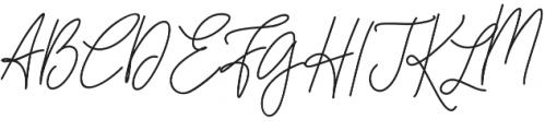 Cottage Market Script otf (400) Font UPPERCASE