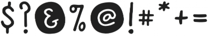 Cottage and Farmhouse Dots otf (400) Font OTHER CHARS