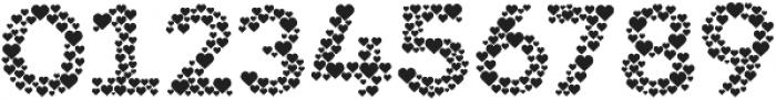 Countless Hearts otf (400) Font OTHER CHARS