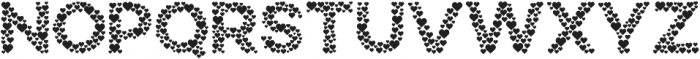 Countless Hearts otf (400) Font LOWERCASE
