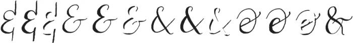 Couple vol1 Regular otf (400) Font UPPERCASE