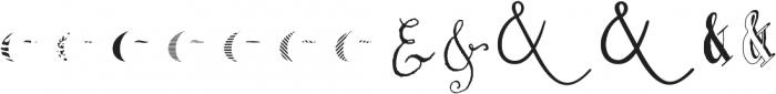 Couple vol1 Regular otf (400) Font LOWERCASE