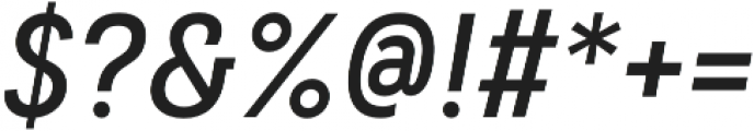 Couplet CF Demi Bold Italic otf (600) Font OTHER CHARS