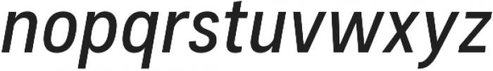 Couplet CF Demi Bold Italic otf (600) Font LOWERCASE