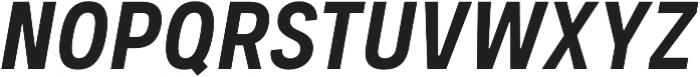 Couplet CF Extra Bold Italic otf (700) Font UPPERCASE