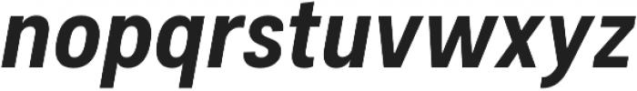 Couplet CF Extra Bold Italic otf (700) Font LOWERCASE