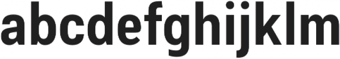 Couplet CF Extra Bold otf (700) Font LOWERCASE