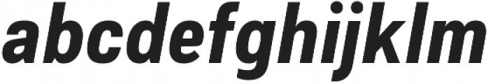Couplet CF Heavy Italic otf (800) Font LOWERCASE