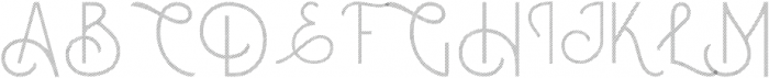 Courageous Gradient otf (400) Font UPPERCASE
