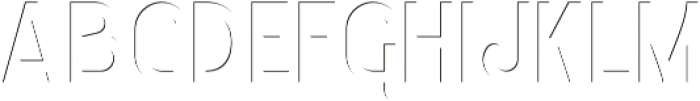 Courageous Shadow In otf (400) Font LOWERCASE