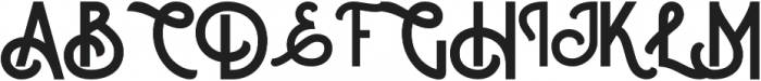 Courageous otf (400) Font UPPERCASE