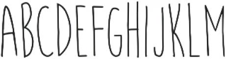 Courtny otf (300) Font UPPERCASE