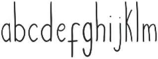Courtny otf (300) Font LOWERCASE