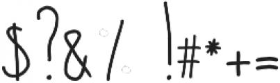Courtny otf (400) Font OTHER CHARS
