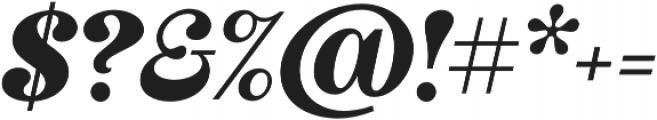 Couturier Black It otf (900) Font OTHER CHARS