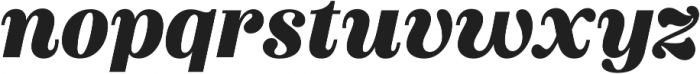 Couturier Black It otf (900) Font LOWERCASE