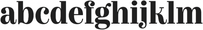 Couturier Bold otf (700) Font LOWERCASE