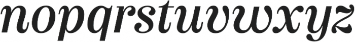 Couturier Regular It otf (400) Font LOWERCASE