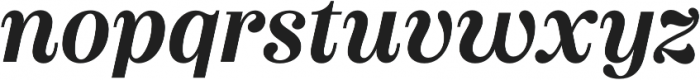 Couturier SemiBold It otf (600) Font LOWERCASE