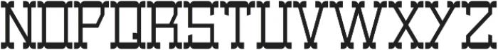 Coventry Regular otf (400) Font UPPERCASE