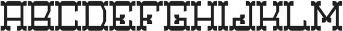 Coventry Regular otf (400) Font LOWERCASE