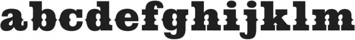 Cowboy Western Regular otf (400) Font LOWERCASE