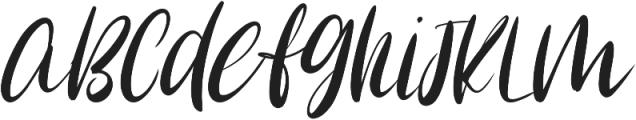 Cozi Glow otf (400) Font LOWERCASE