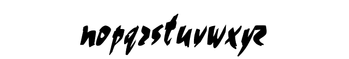 Cocoa Thin Italic Font LOWERCASE