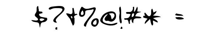 Cody Regular Font OTHER CHARS