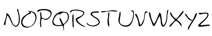 Cody Regular Font UPPERCASE