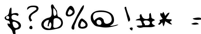 Corbitt Regular Font OTHER CHARS