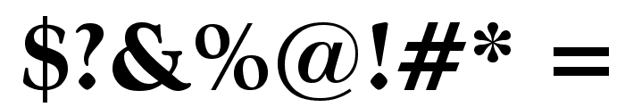 CordialBlk Font OTHER CHARS